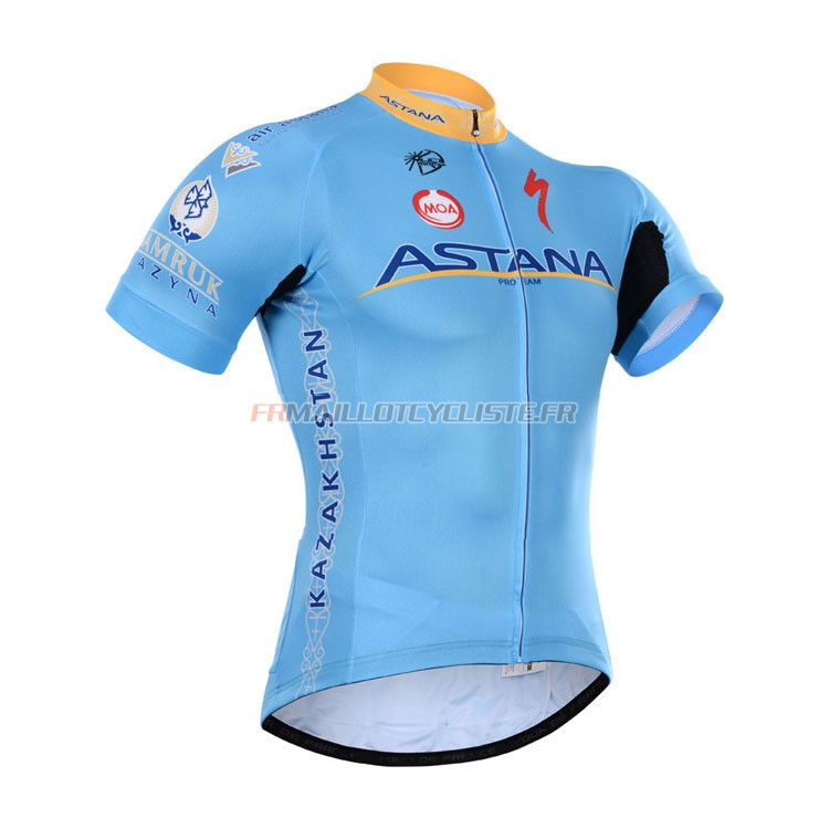 Maillot Astana Manches Courtes 2015