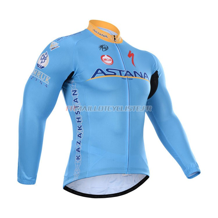 Maillot Astana Longues Manches 2015