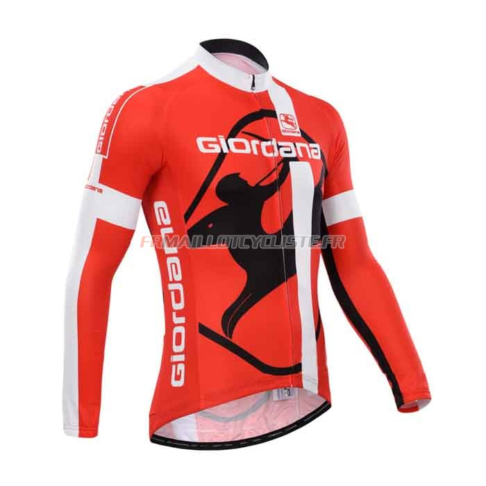 Maillot Giordana Longues Manches 2014