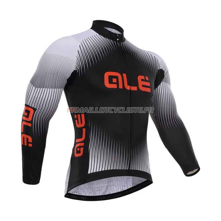 Maillot Giordana Longues Manches Noir 2015