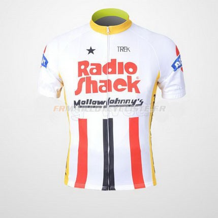 Maillot Johnnys Manches Courtes Rouge 2011