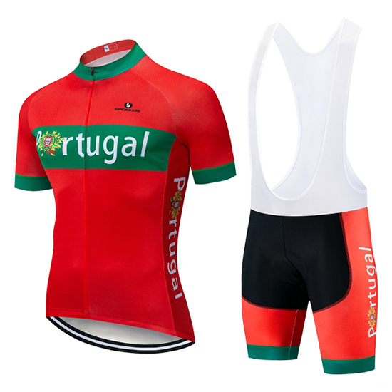 Maillot Portugal Manches Courtes Vert Rouge 2019