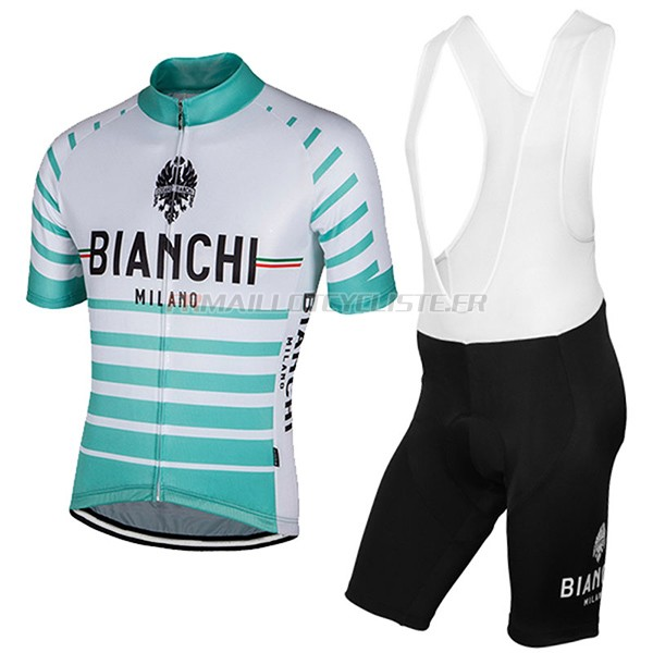 Maillot Bianchi Milano Albatros Manches Courtes blanc 2017